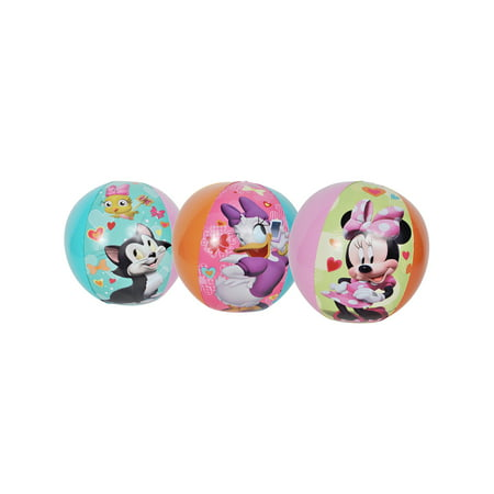 Minnie Mouse Kids Inflatable Beach Ball - Minnie Mouse Pack And Play