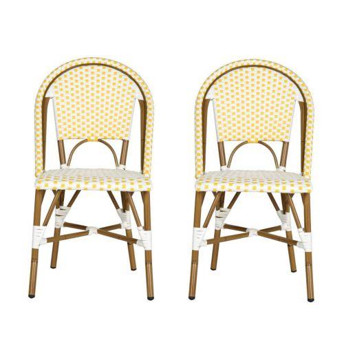 Safavieh Salcha Indoor-Outdoor Stacking Arm Chair, Set of 2, Multiple Colors