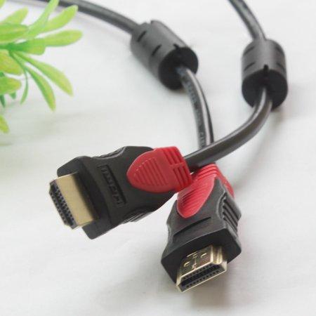 LIVEDITOR 4096×2160p Premium 25 FT HDMI 1.4 Cable w/Ferrite Cores Ethernet 24K Gold Plated - image 1 de 7