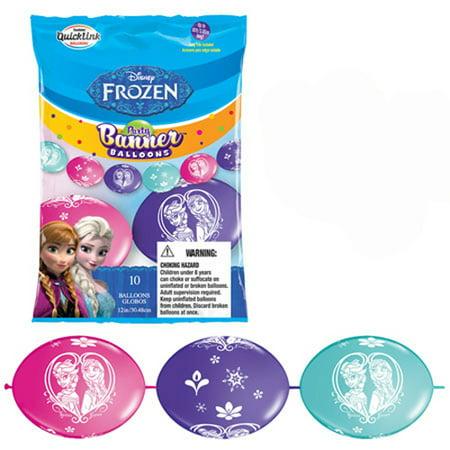 Frozen QuickLink Latex Balloon Banner Kit - Banner Frozen