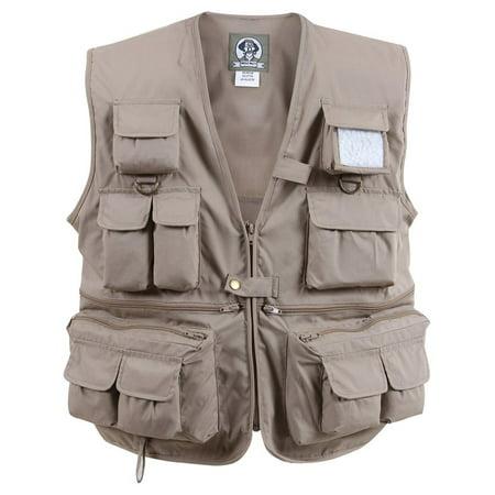 - Travel Vest, Photographer Vest with 17 Pockets