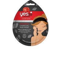 Yes to Tomatoes Charcoal Mud Mask, Single Use Face Mask