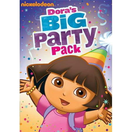 Dora's Halloween Dvd (Dora the Explorer: Dora's Big Party Pack)