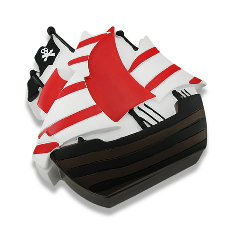 Children`s Pirate Ship Trinket Box