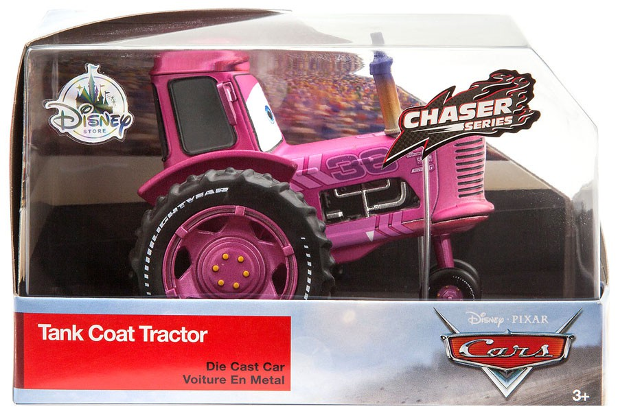 Disney Cars Chaser Series Tank Coat Tractor Diecast Car by