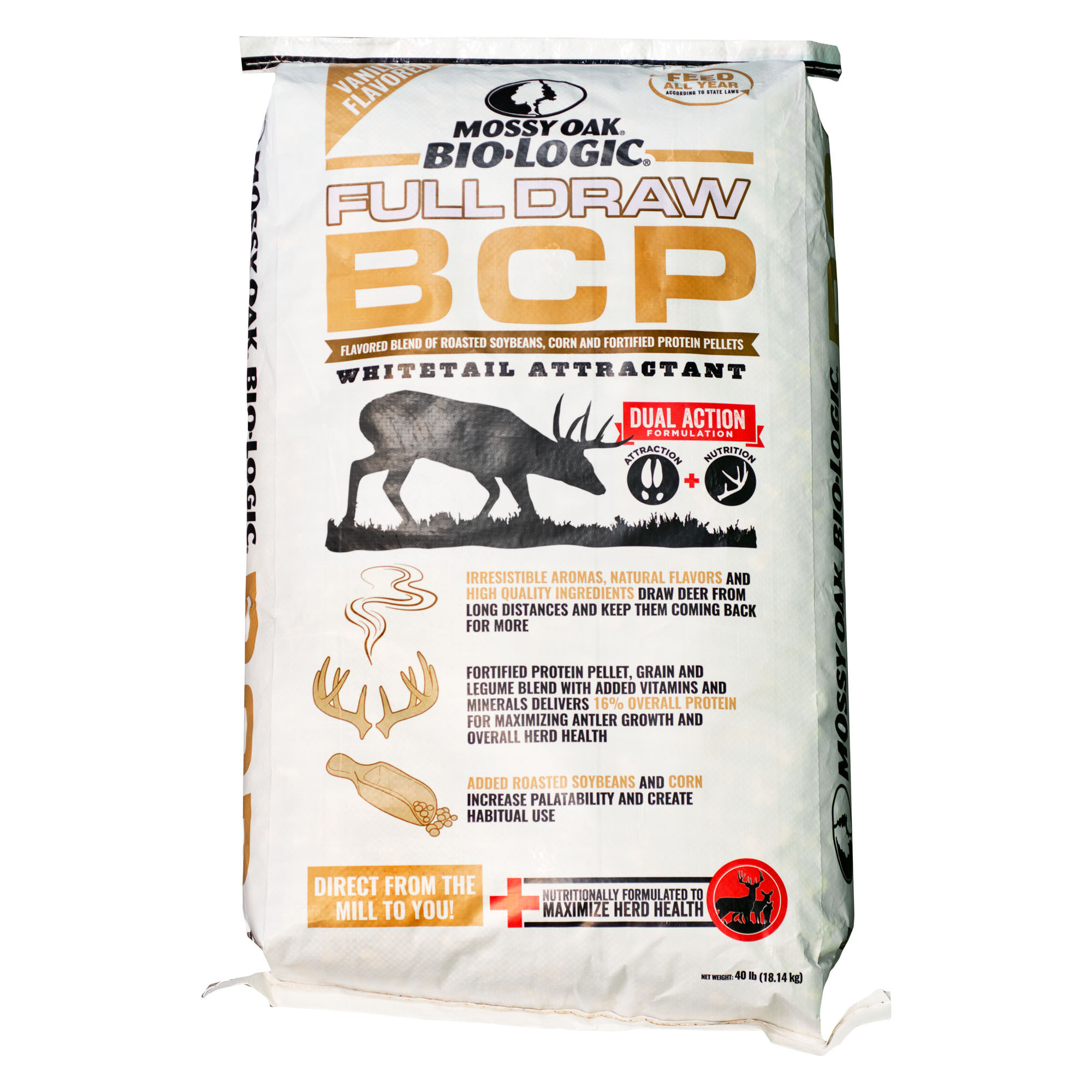 Mossy Oak BioLogic Full Draw BCP Vanilla Deer Attractant