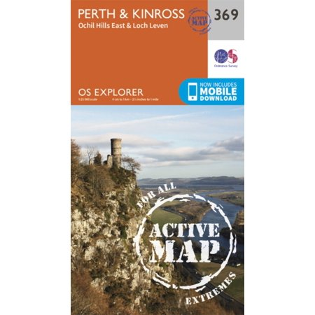OS Explorer Map Active (369) Perth and Kinross (OS Explorer Active Map) (Carousel Mall Perth)
