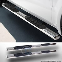 RL Concepts 4 SS CHROME SIDE STEP NERF BAR running board 04-12 COLORADO/CANYON EXTENDED CAB