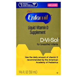 Enfamil D-vi-Sol Liquid Vitamin D Supplement, 1.666 FL OZ