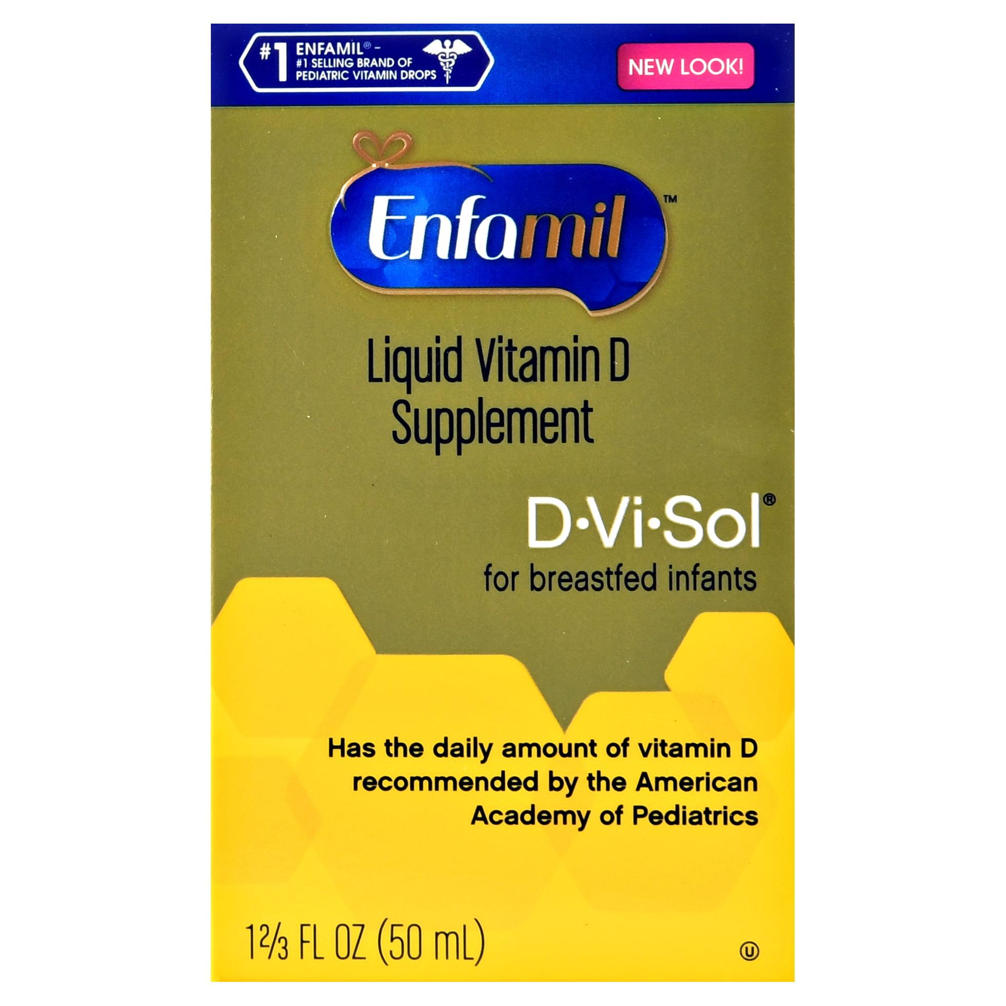 Enfamil D-vi-Sol Liquid Vitamin D Supplement, 1.67 fl oz