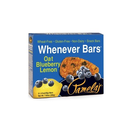 Pamela's Whenever Snack Bar, Oat Blueberry Lemon, 1.41 Oz