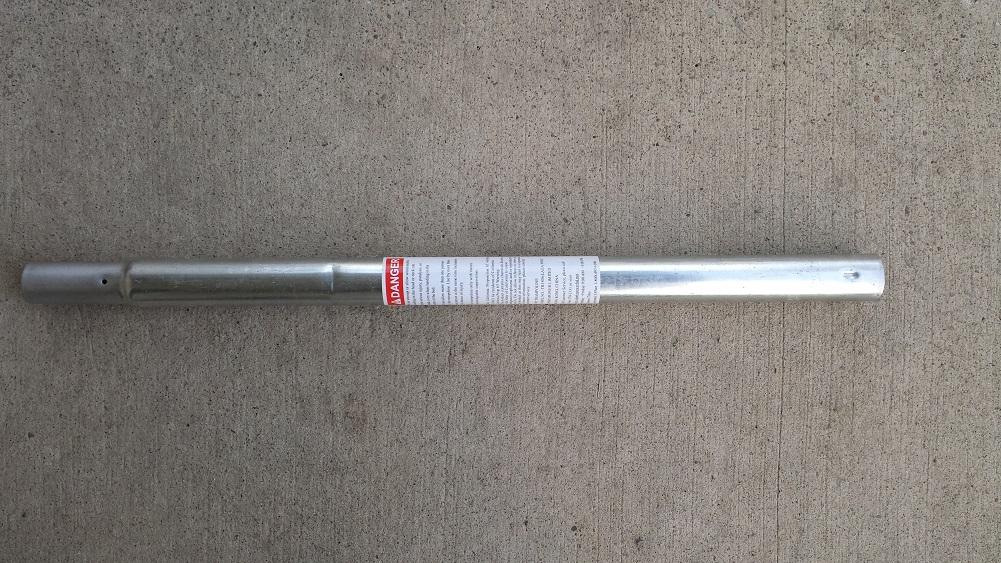 BouncePro 15' Round Trampoline Vertical Leg Extension