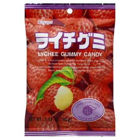 Kasugai Gummy Litchi Fresh and Juicy Candies, 4.41 oz Kasugai Mango Gummy