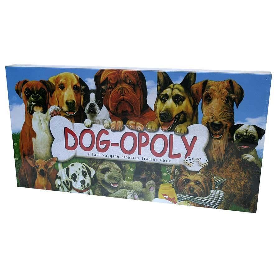 Dog-opoly Board Game by Overstock