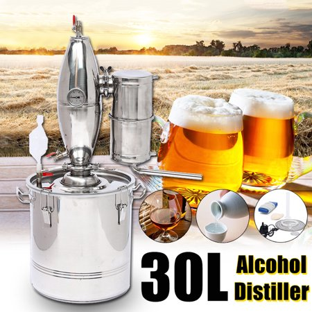 5/8/13 Gal Gallon 20L 30L 50L Water Alcohol Beer Distiller Moonshine Still Boiler Home Stainless Copper Equipment Distilling Machine Wine Maker Brew Kit](Mr Beer Bottles)