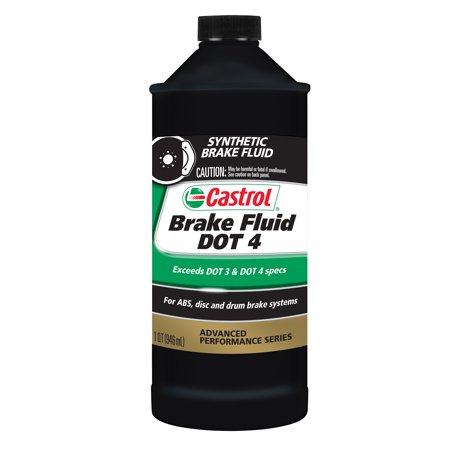 Mustang Brake Fluid - Castrol Brake Fluid DOT 4, 1 QT