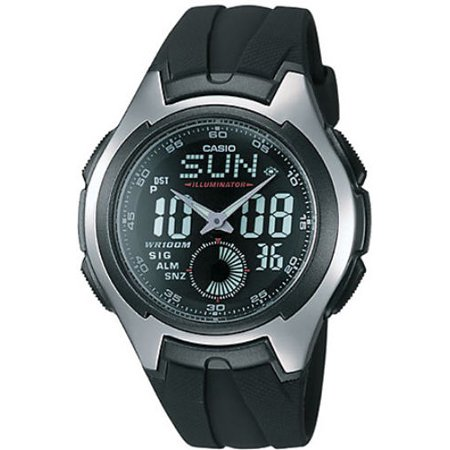 - Digital Analog Alarm Watch AQ160W-1BV