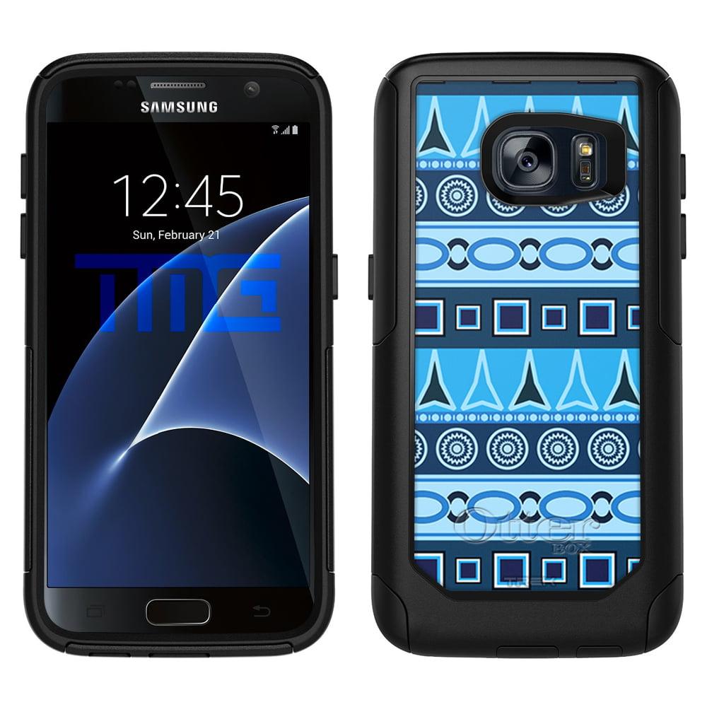 OtterBox Commuter Samsung Galaxy S7 Case - Aztec Blue Pattern OtterBox Case