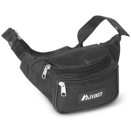 Everest Signature Fanny Pack Black Oak Fanny Pack