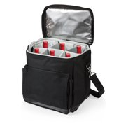 Legacy Cellar 6 Bottle Wine Carrier and Cooler Tote