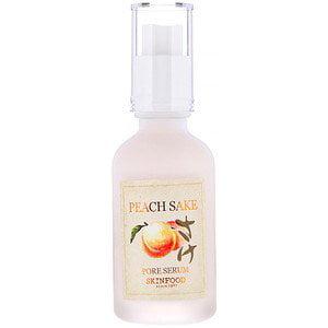 Skinfood, Peach Sake Pore Serum, 1 52 fl oz (45 ml) (Pack of 2)