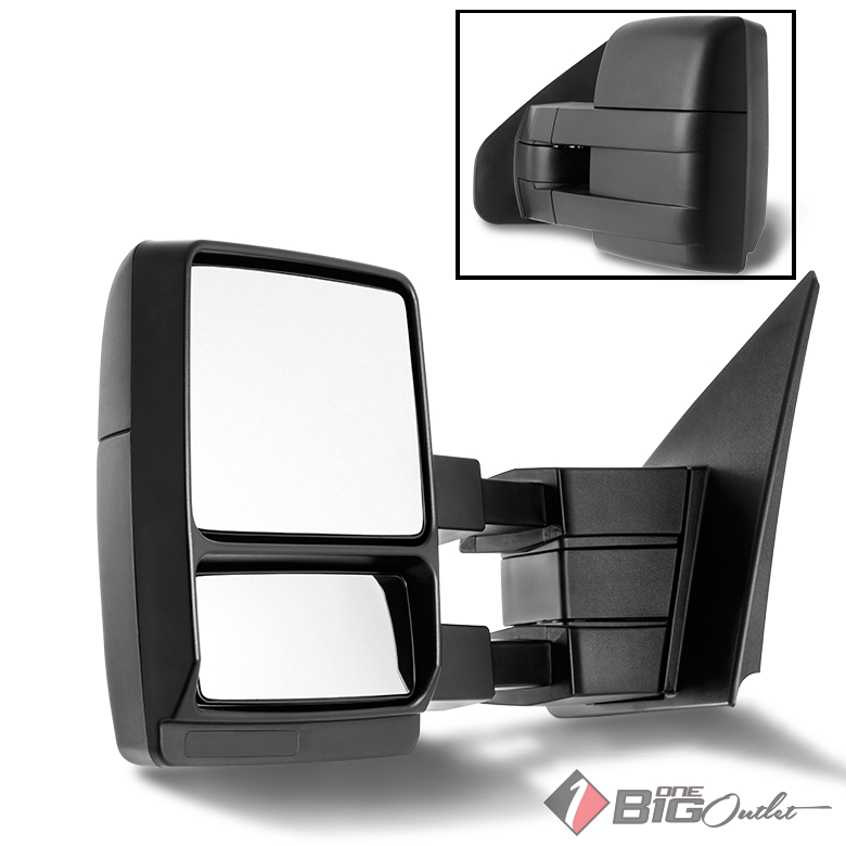 2004-2014 F150/Lobo Manual Extendable Towing Side View Mi...