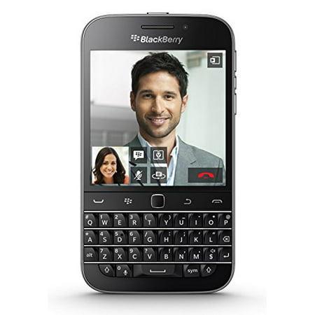 BlackBerry Classic SQC100-4 16GB Unlocked GSM 4G LTE Keyboard Phone - (The Best Blackberry Phone)