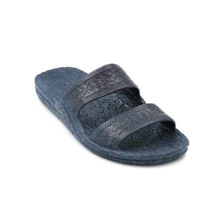 - Pali Hawaii Genuine Original Jesus Jandal Sandal (Navy Blue;Size 5)