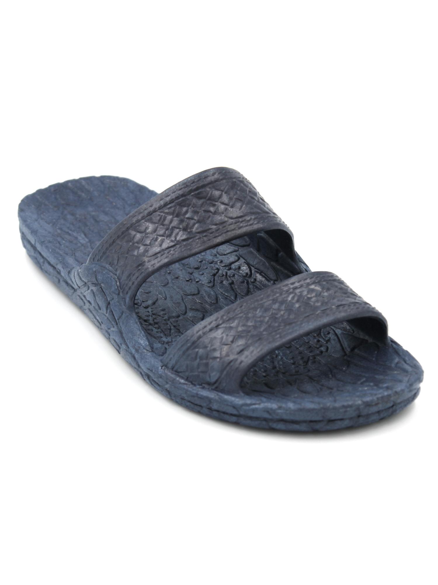 Pali Hawaii Genuine Original Jesus Jandal Sandal (Navy Blue;Size 5)