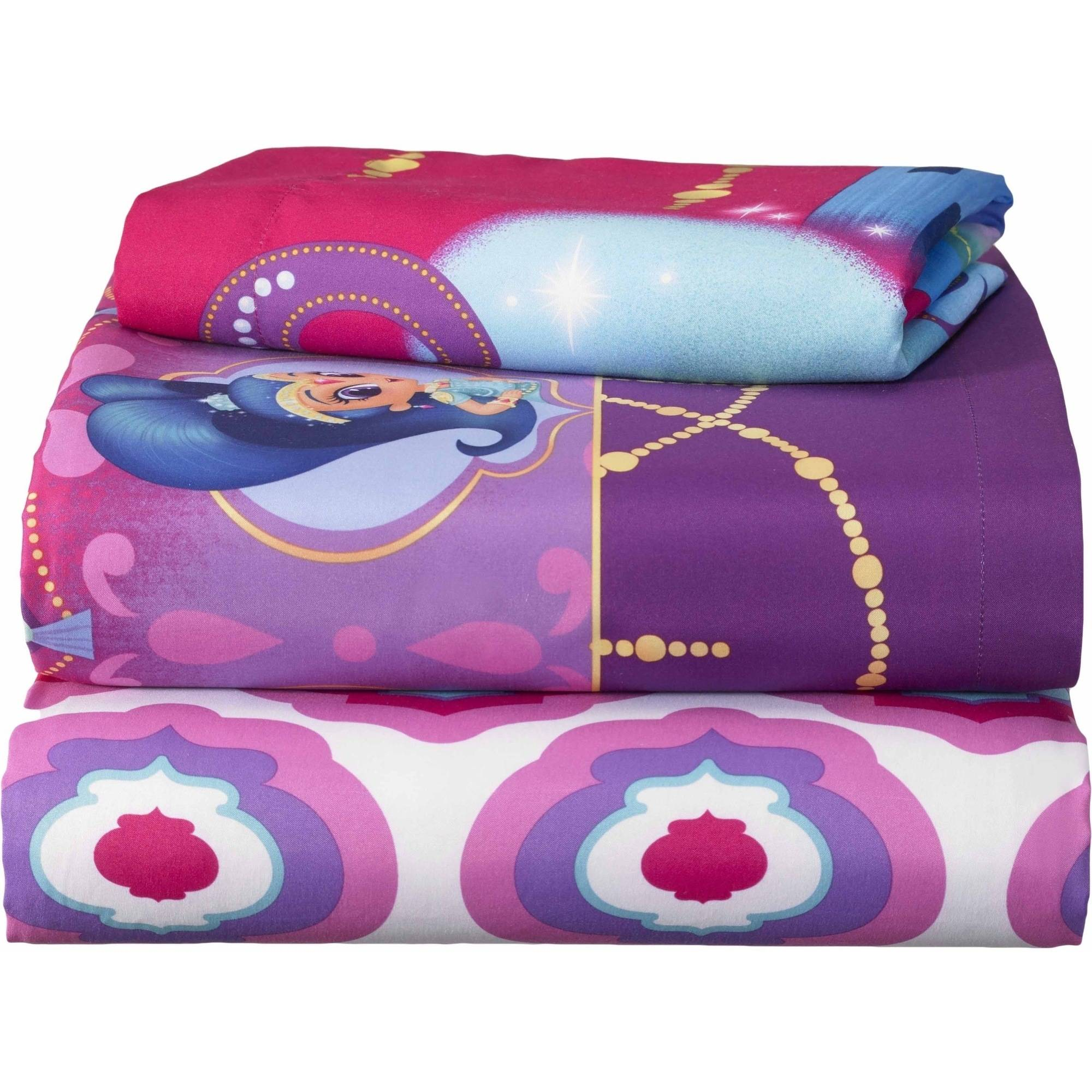 Nickelodeon Shimmer And Shine Magic Wonders Bed In B Walmart Com