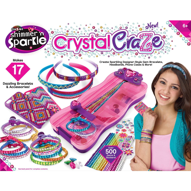 Cra-Z-Art Shimmer N' Sparkle Crystal Craze 73 pc Box by