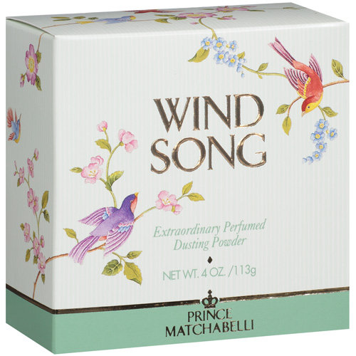 Prince Matchabelli Wind Song Perfumed Dusting Powder, 4 oz