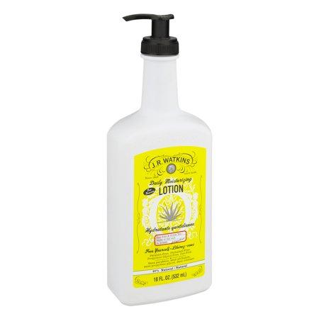Light Aloe Cotton - J.R. Watkins Daily Moisturizing Lotion, Aloe & Green Tea, 18 Oz