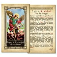 St. Michael the Archangel Laminated Prayer Card