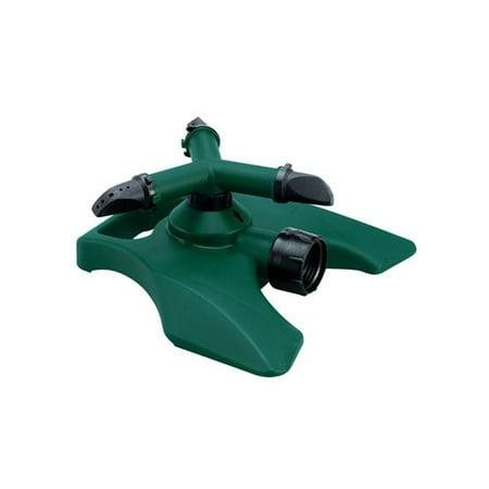 3 Arm Revolving Sprinkler - Orbit Revolving 3-Arm Lawn Sprinkler for Yard Water - Watering Sprinklers, 91604
