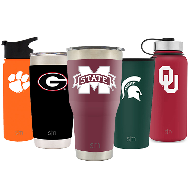 Simple Modern Mississippi State University 30oz Cruiser Tumbler - Vacuum Insulated Stainless Steel Travel Mug - MSU Bulldogs Tailgating Hydro Cup College Flask