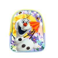 "Disney Frozen Photo Bomb Sisters 10"" Mini School Backpack Light Blue / Silver For Kids Age 3+"