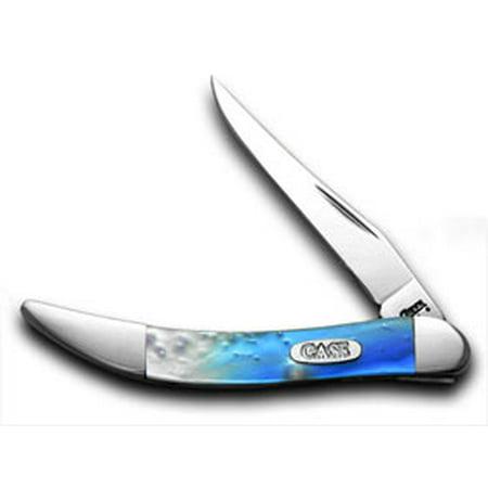 CASE XX Blue Luster Tiny Toothpick Pocket Knife Knives