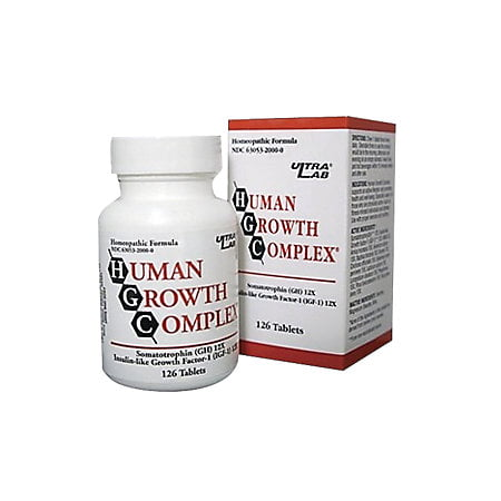 Ultralab Human Growth Complex  126 Ea