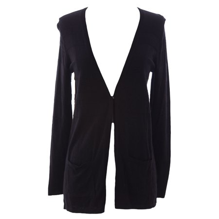 (Women's Petite Textured Single Button Cardigan)
