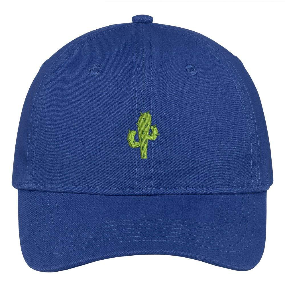 319556abaeb6a Trendy Apparel Shop Small Cactus Embroidered Soft Cotton Low Profile Dad  Hat Baseball Cap