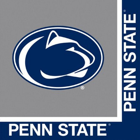 Pack of 240 NCAA Penn State Nittany Lions 2-Ply Tailgating Party Lunch Napkins - Penn State Party Supplies
