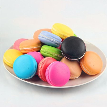 Simulation Macaron Food Squishy Super Slow Rising Kid Toy Decompression Toys](Unique Toys For Kids)