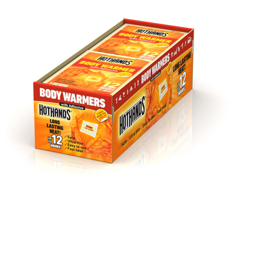 HotHands Adhesive Body Warmers, 40ct