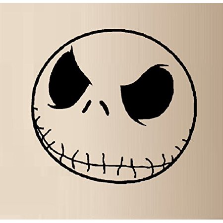 Decal ~ Skeleton Face #1 ~ WALL DECAL, 21