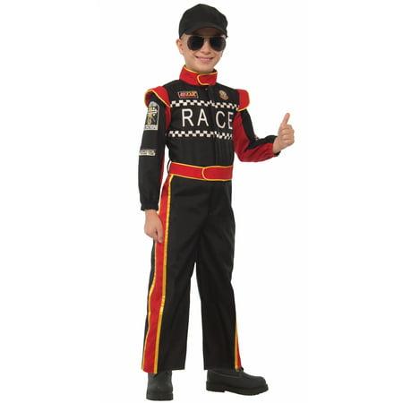 Racecar Driver Child Costume (Large)