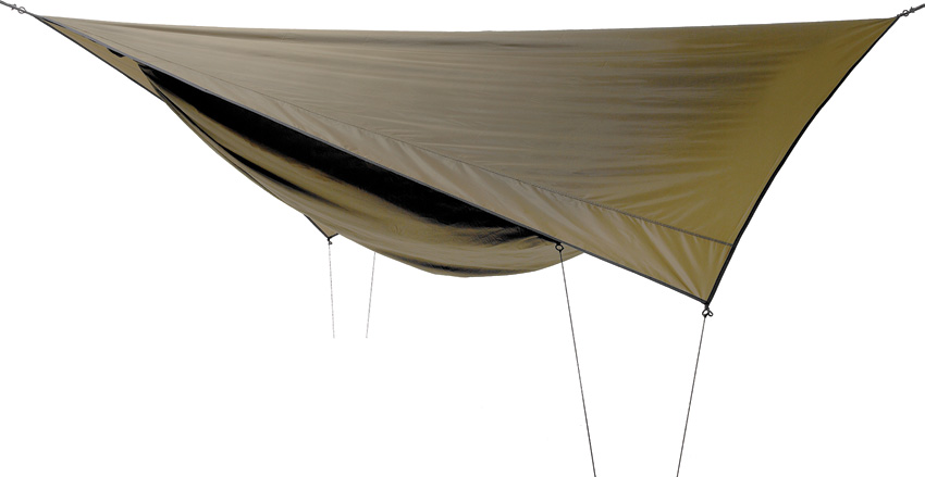 Hennessy Hammock M30 Coyote Brown Explorer Deluxe Asym Classic Waterproof by Hennessy Hammock