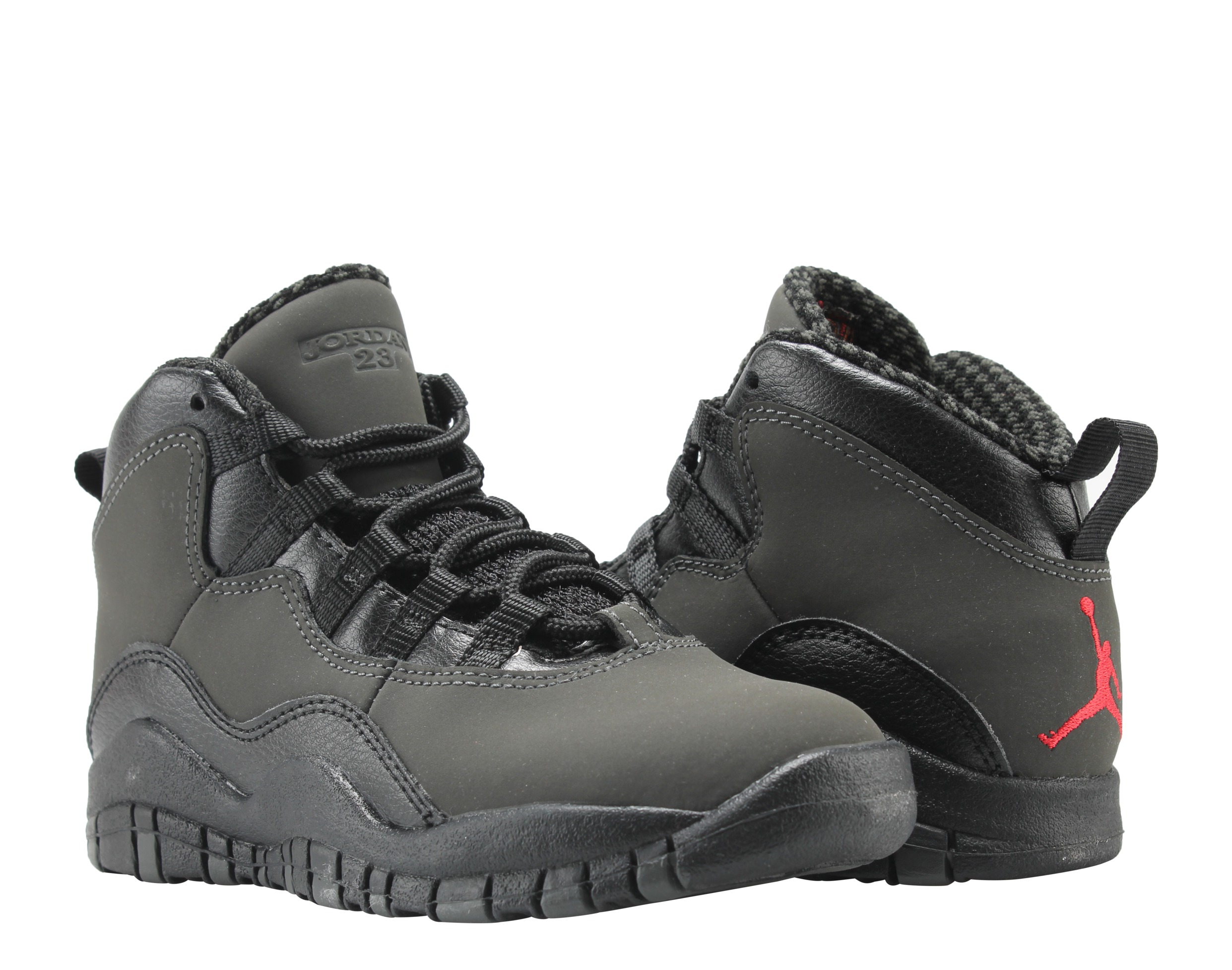 the latest 94862 8a482 ... switzerland nike air jordan 10 retro bp dark shadow little kids  basketball shoes 310807 002 walmart