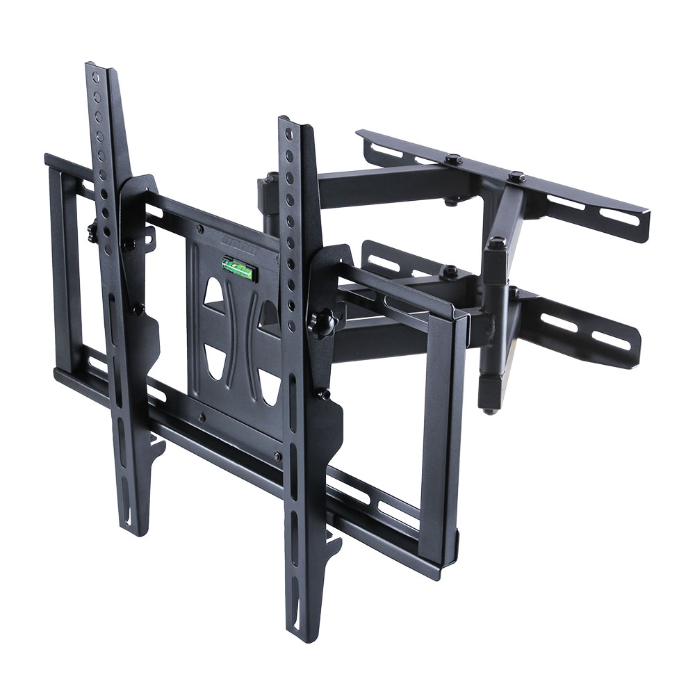 Full Motion Cantilever TV Wall Bracket Mount Adjustable Arm Mount for 26-55'' Monitor VESA 75x75 and 400x400