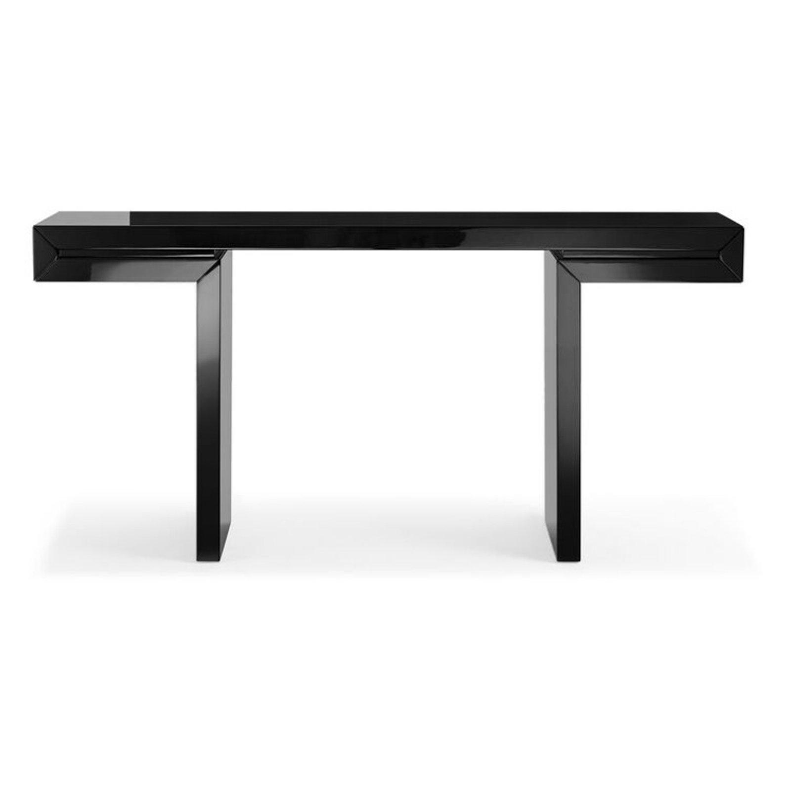 Whiteline Modern Living Delaney Console by White Line Imports